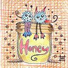 Honey Monsters by nightsparklies