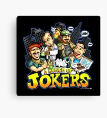 A Bunch Of Jokers -  jokers Canvas Print
