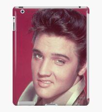 ELVIS PRESLEY - RED BACKGROUND iPad Case/Skin