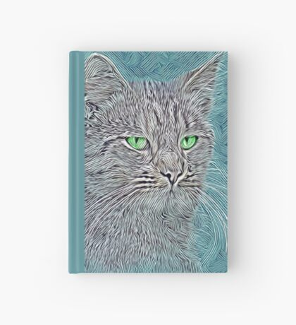 Felis silvestris catus Hardcover Journal