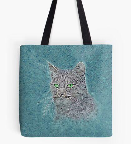 Felis silvestris catus Tote Bag