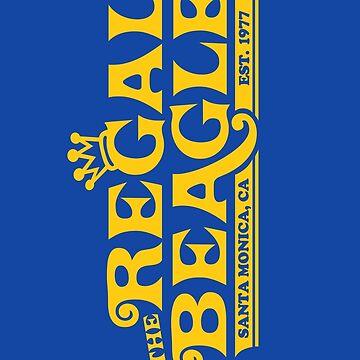 The Regal Beagle - Three's Company T-Shirt by DuckSkinAngel