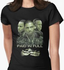 green full paid Women's Fitted T-Shirt