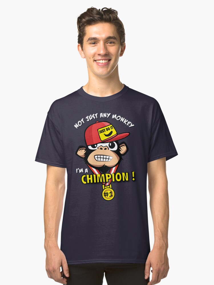 Chimpion Classic T-Shirt Front