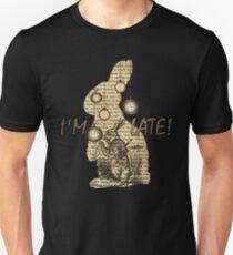 Alice In Wonderland - White Rabbit - I'm Late! T-Shirt