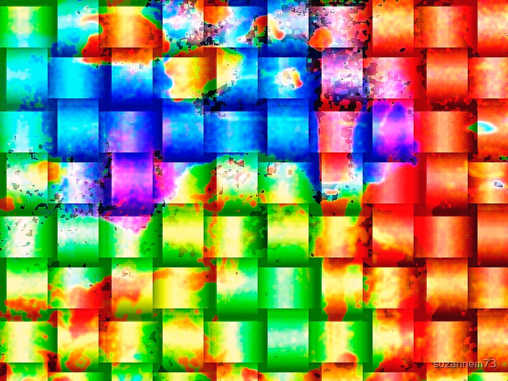 Woven Rainbow by suzannem73