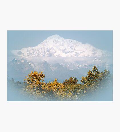 Mt. Denali in Alaska Photographic Print