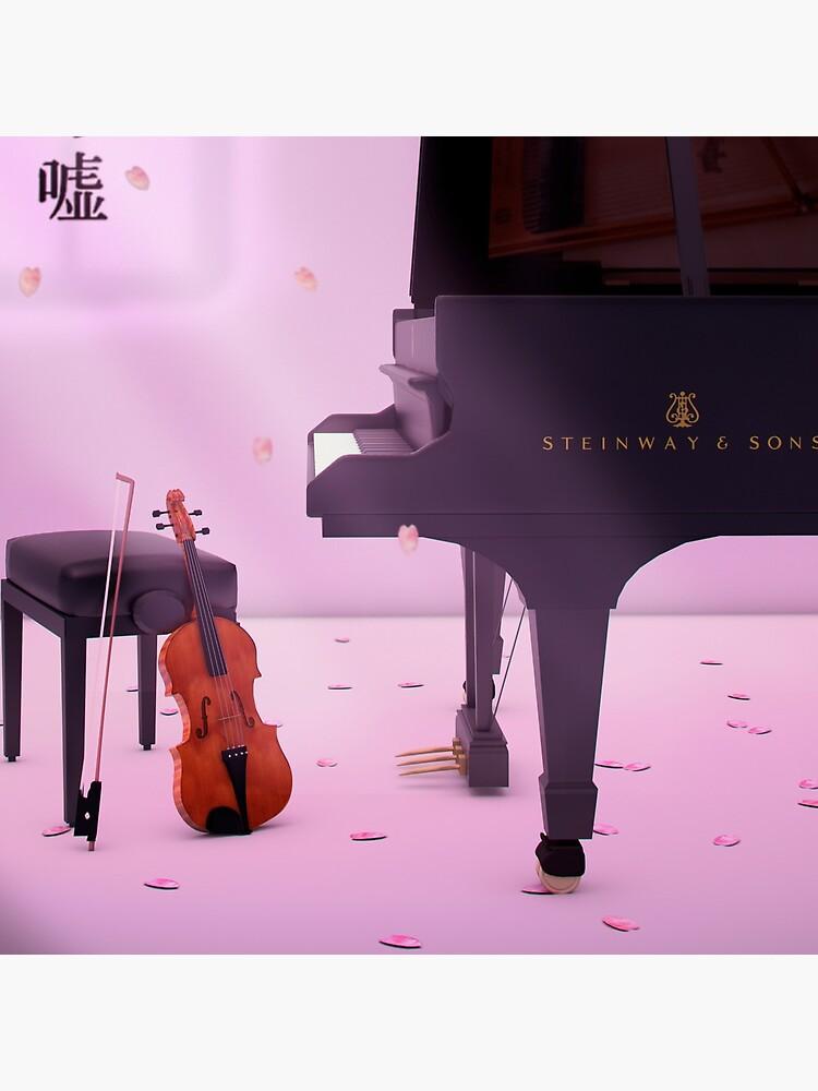 Klavier & Violine eine Liebesgeschichte - Deine Lüge im April von Alvarito4X93