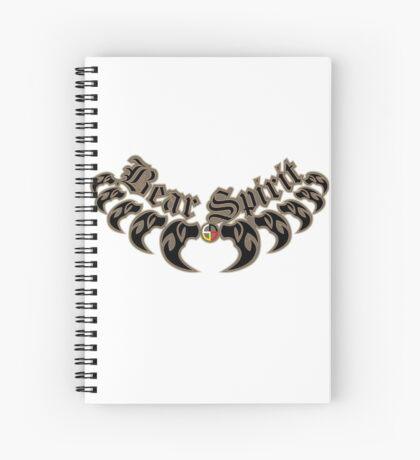 Bear Necklace Spiral Notebook