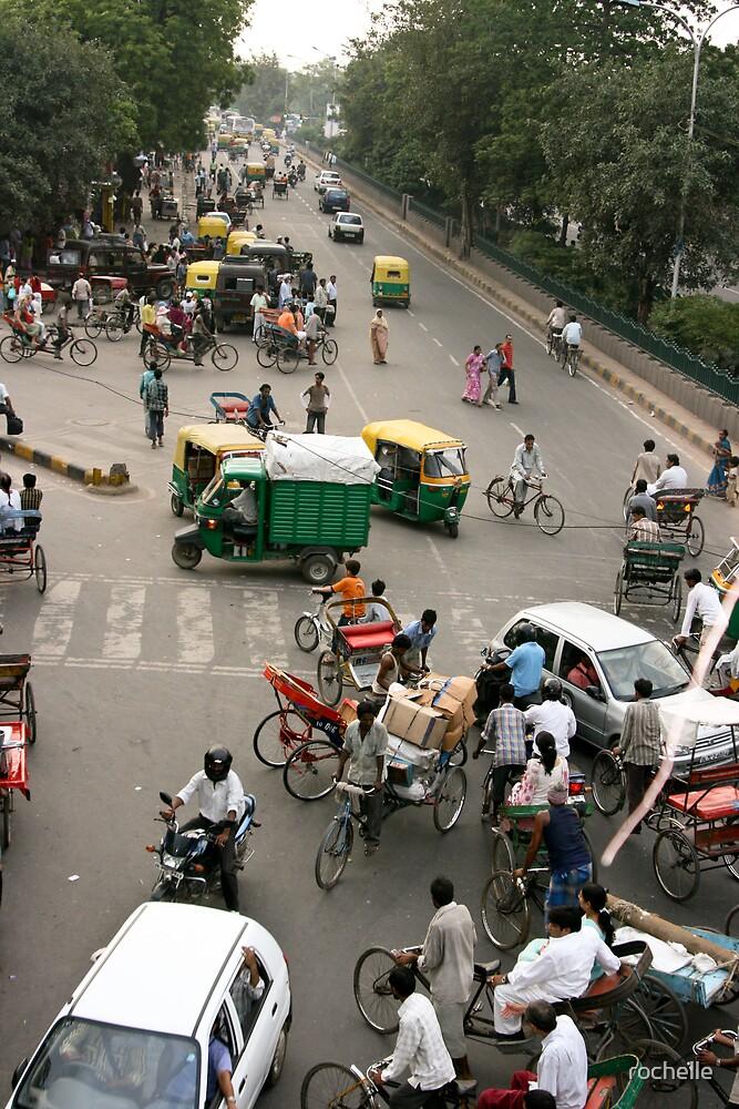 Delhi intersection! by rochelle