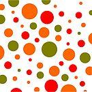 Punkte Retro Muster von germanX