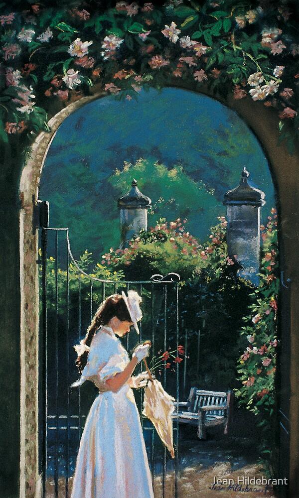 Afternoon Stroll by Jean Hildebrant