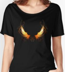 Fiery wings ( Phoenix wings ) Women's Relaxed Fit T-Shirt