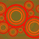 Retro Kreise Muster von germanX