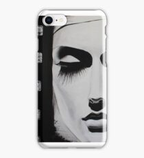Black and White Movie girl . iPhone Case/Skin