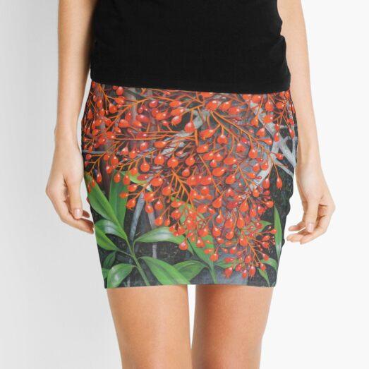 Australian Flame tree Mini Skirt