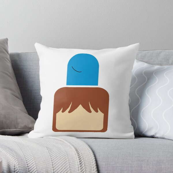 Mac & Bloo Throw Pillow