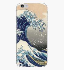 Hokusai wave iPhone Case