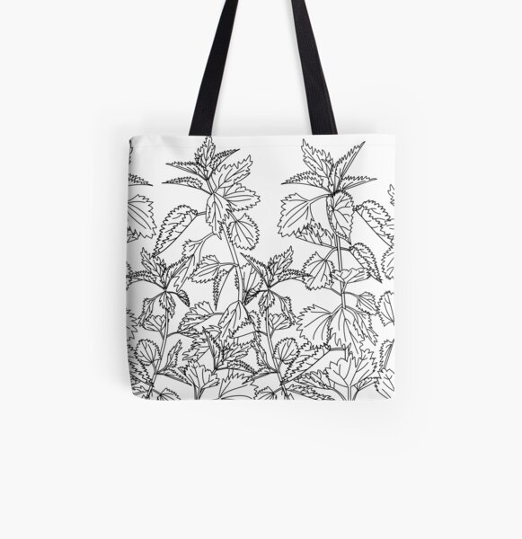 Nettle All Over Print Tote Bag