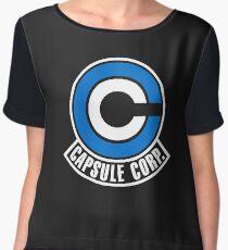 Capsule Corp Women's Chiffon Top