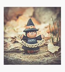 149 - Little Witch Photographic Print