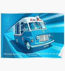 Morecambe and Wise Ice Cream Van Poster