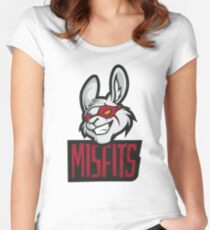 Misfits League Of Legends Worlds Championship 2017 Women's Fitted Scoop T-Shirt