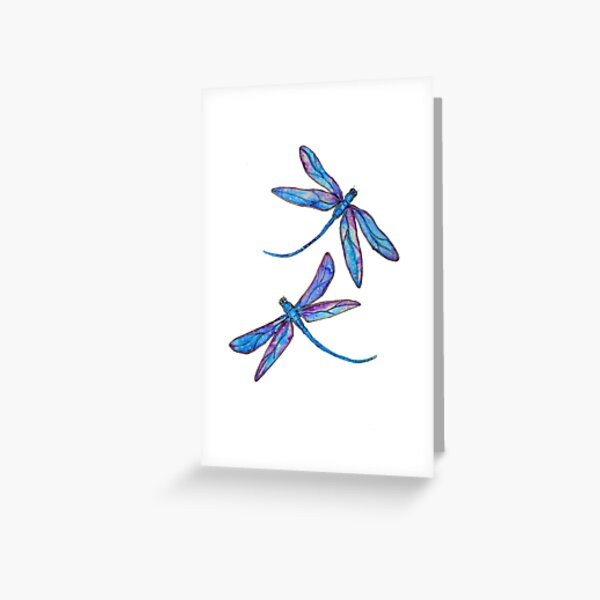 Dragonfly Dance Greeting Card