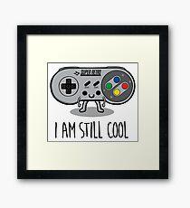 I am still cool Framed Print