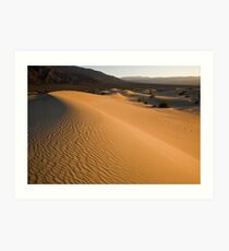 Death Valley Sunset Art Print