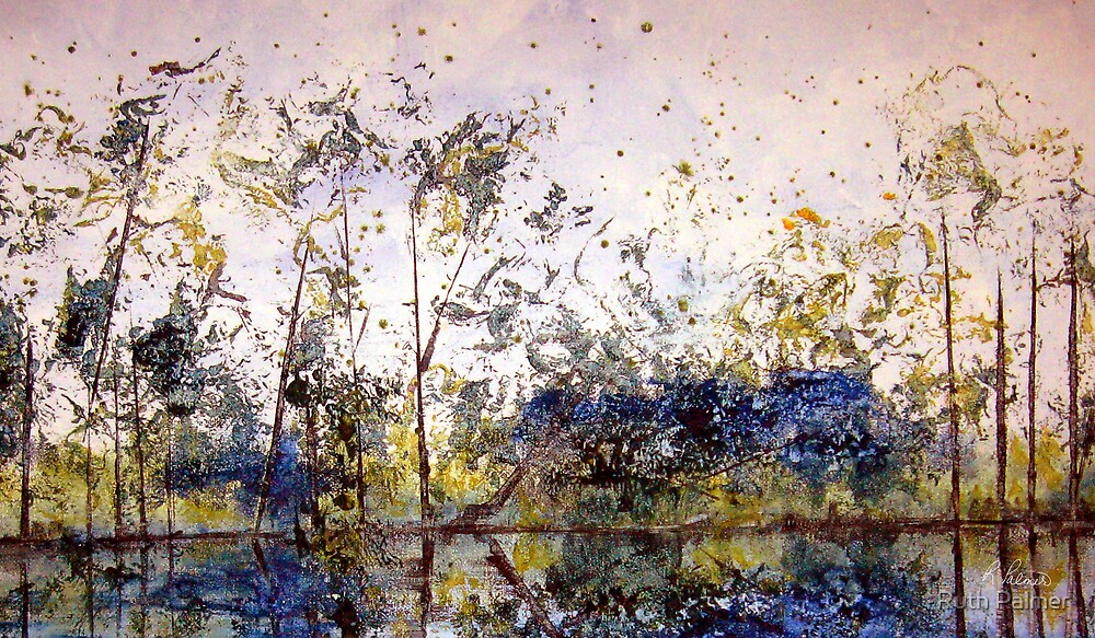 Along The River Bank by Ruth Palmer