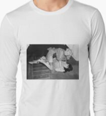 RETRO CATFIGHT Long Sleeve T-Shirt