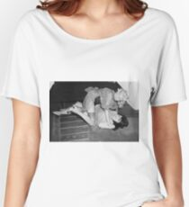 RETRO CATFIGHT Women's Relaxed Fit T-Shirt