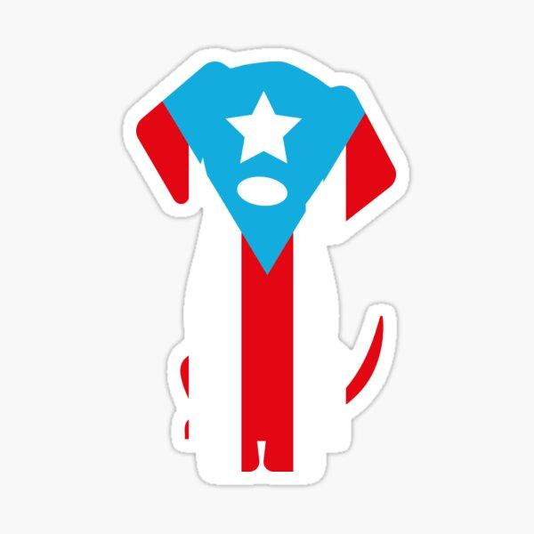 Puerto Rico Dog Sticker