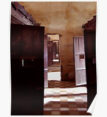 S21, Cambodia (Womens' Cells) Poster