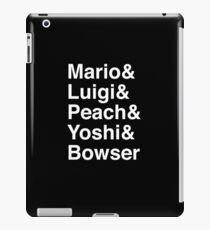 Helvetica Bros iPad Case/Skin