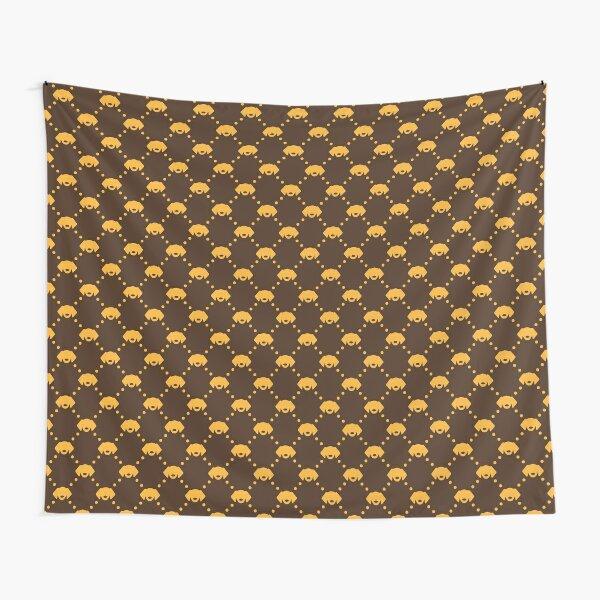 Orange & Brown Tapestry