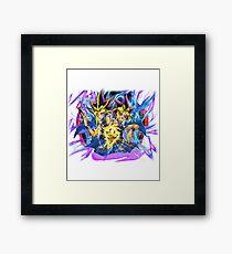 Yugioh! - Yami & Yugi Framed Print