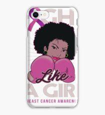 Breast Cancer Awareness for Black Women iPhone Case/Skin