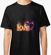 Fire love Classic T-Shirt