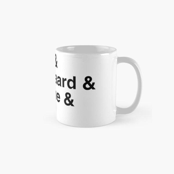 Existential Philosophers Classic Mug