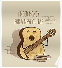 NEW GUITAR Poster