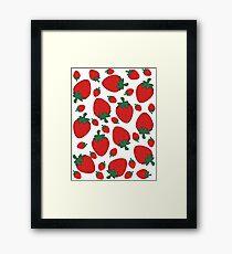 Strawberries! Framed Print