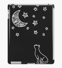 night cat iPad Case/Skin