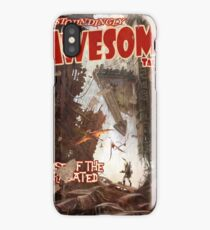 Astoundingly Awesome Tales: Rise of The Radiated Fallout 4 Poster  iPhone Case/Skin