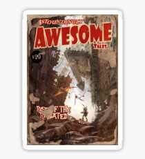 Astoundingly Awesome Tales: Rise of The Radiated Fallout 4 Poster  Sticker