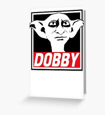 Tarjeta de felicitación dobby
