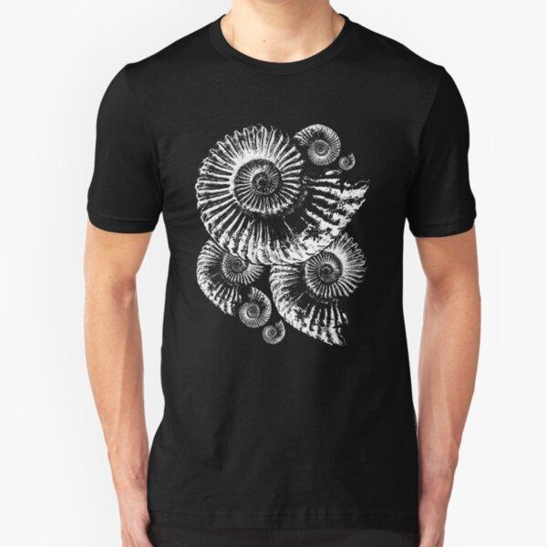 Fossil tshirt - for those that love Ammonites Slim Fit T-Shirt