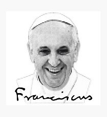 Pope Francis Photographic Print