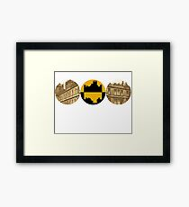Downton Abbey (customizable) Framed Print